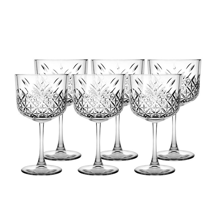 Salisbury & Co Churchill Etched Cocktail Glass 500ml Set