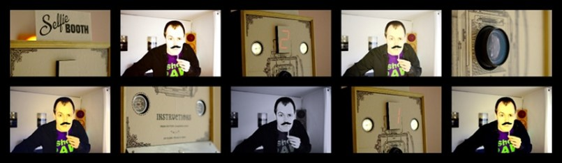 photobooth web filter small - Un Photo Booth con wifi controlado con #arduino