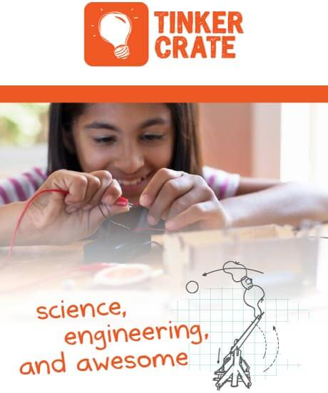 Tinker Crate - science, engineering, and awesome