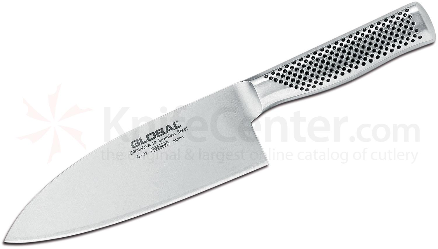 global kitchen knives pictures of remodeled kitchens g 29 classic 7 quot wide chef 39s knife knifecenter