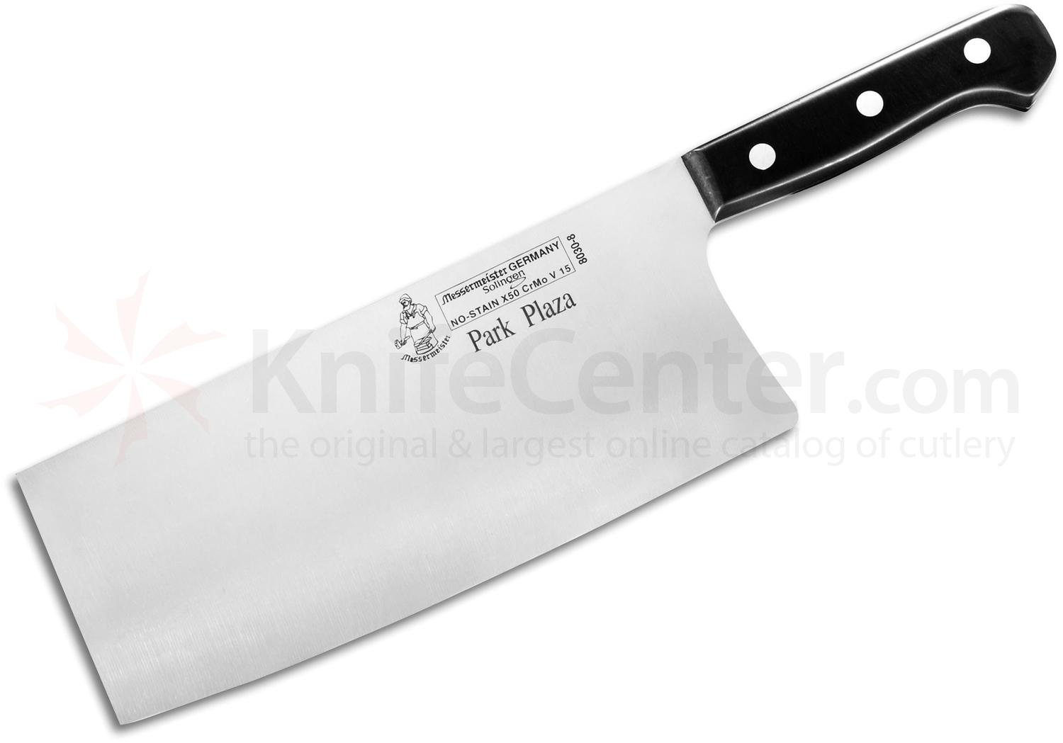 chinese kitchen knife round tables messermeister park plaza 8 quot cleaver