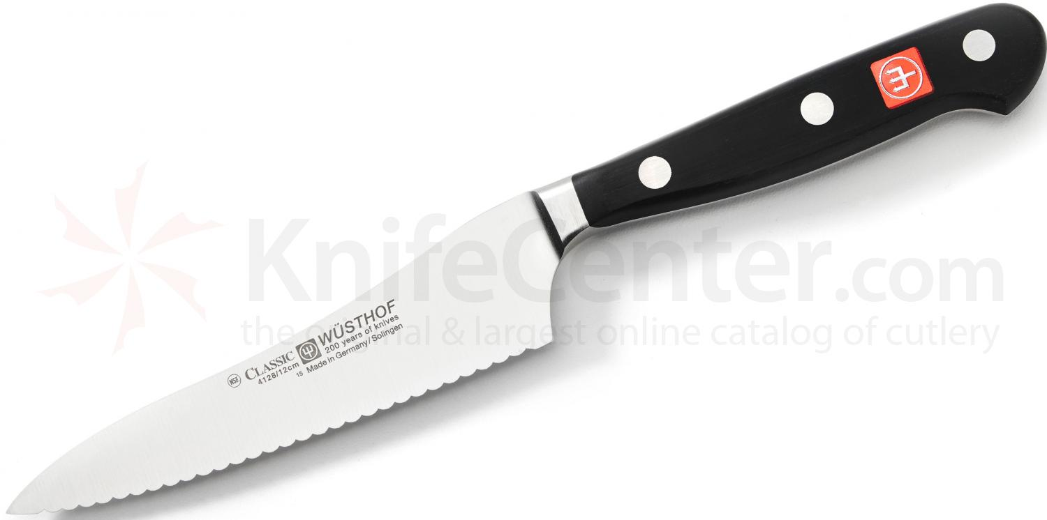 kitchen utility knife novaform mat wusthof classic 4 1 2 artisan knifecenter click to enlarge