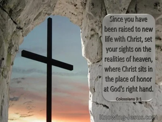 Colossians 3:1 Inspirational Images