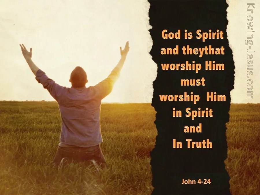 Image result for john 4:24