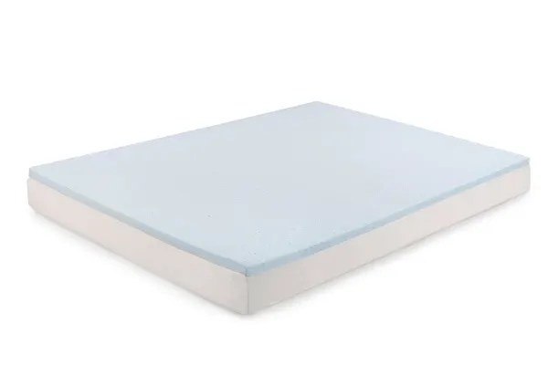 Ovela Gel Infused Memory Foam Mattress Topper With Bamboo Cover Single