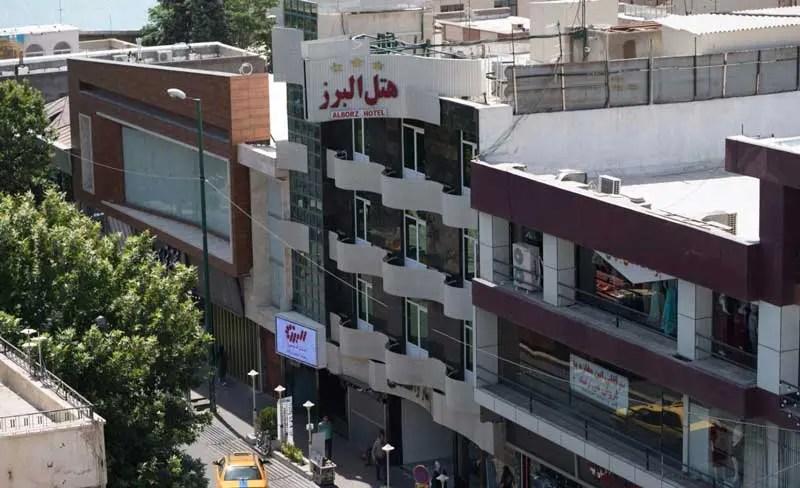 هتل البرز قزوین