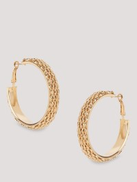 Buy ERISTONA Statement Hoop Earrings For Women - Women's ...
