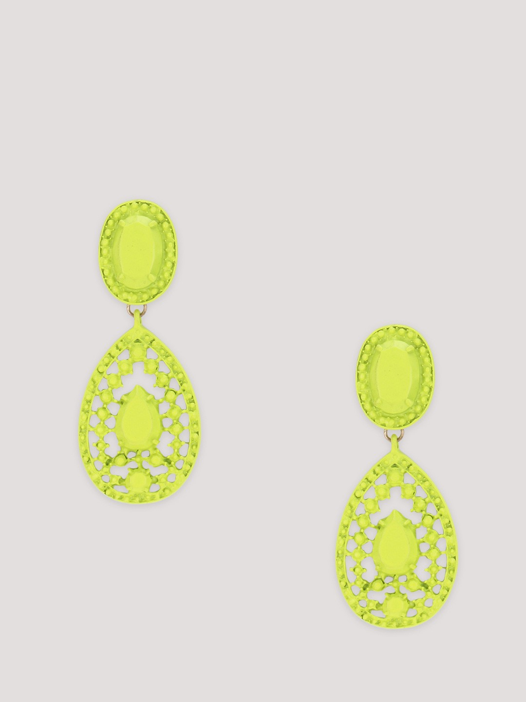 Buy ERISTONA Neon Statement Earrings For Women
