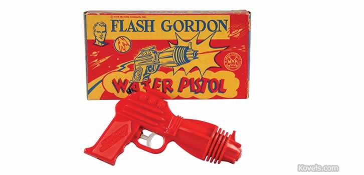 One of Max Teller's favorite Flash Gordon toys. www.salemhousepress.com