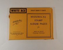 White Ace Stamp Albums - Year of Clean Water