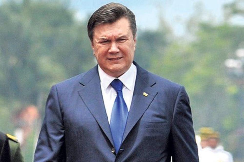 Ukrajina raspisala međunarodnu poternicu za Janukovičem