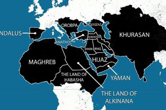 Site ISIL califat, Photo RadioSarajevo.ba