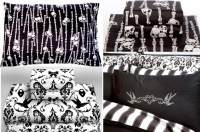 Goth Bedding Sets And Drapes Pictures to Pin on Pinterest ...