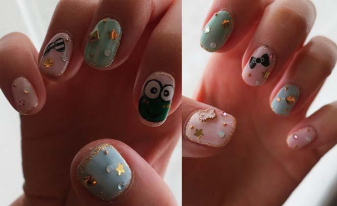 O Kitty Nail Art Keroppy Nails Anese Cute Gel