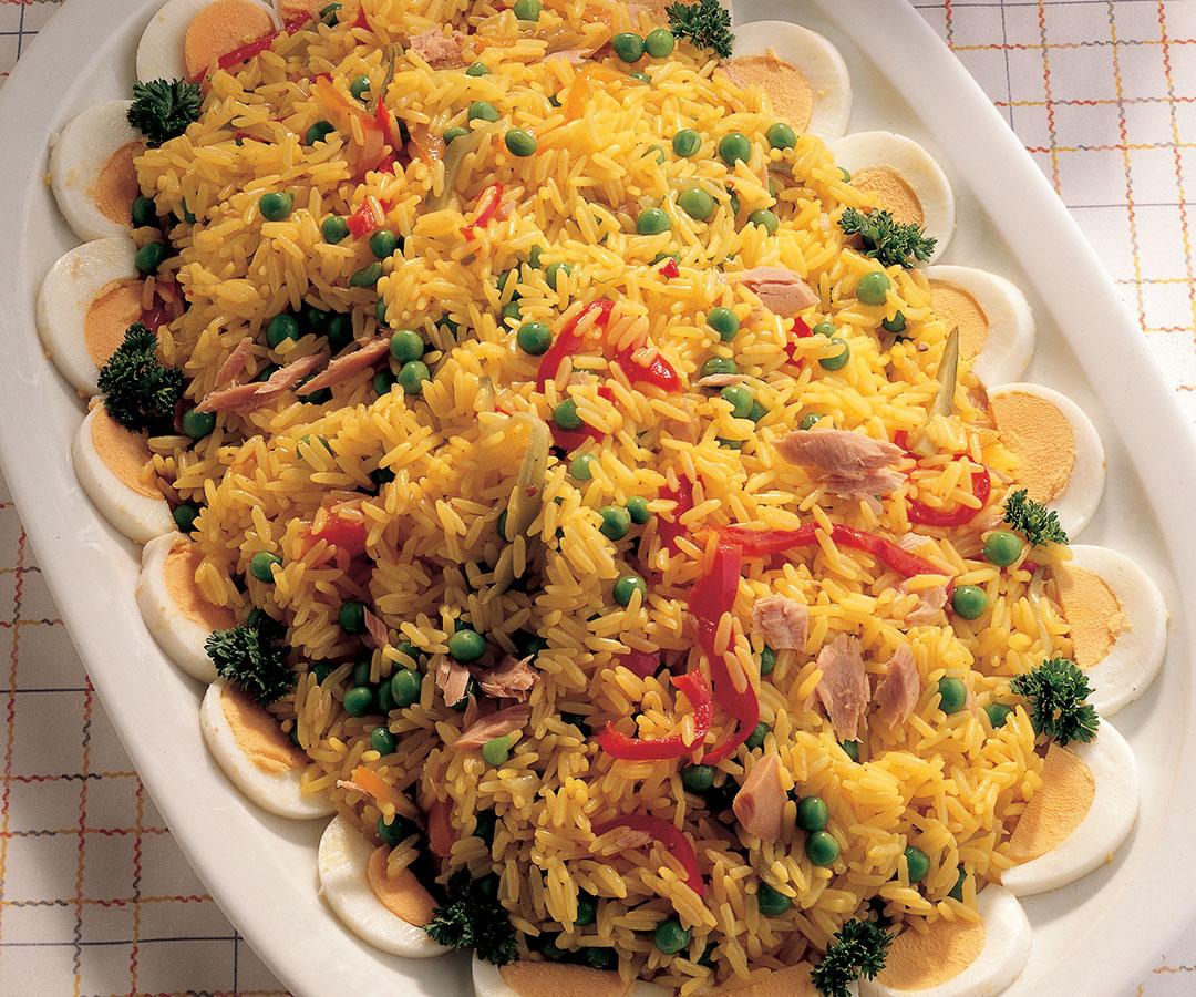 Ricetta Insalata di riso giallo  Le ricette de La Cucina