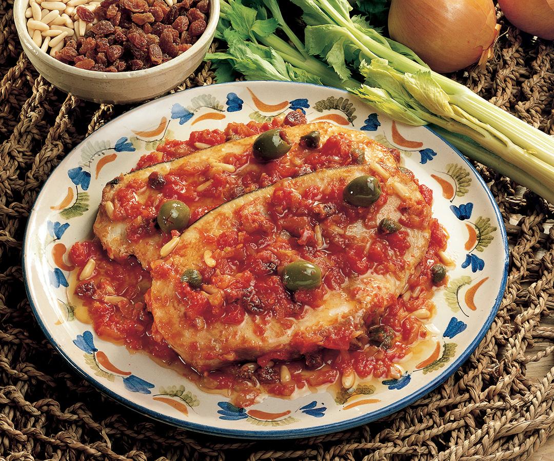Ricetta Pesce spada alla siciliana  La Cucina Italiana