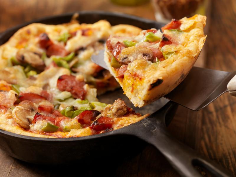 Pizza al padellino Torino  La Cucina Italiana