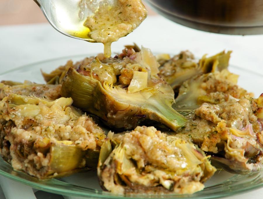 Ricetta Carciofi alla romana  Le ricette de La Cucina