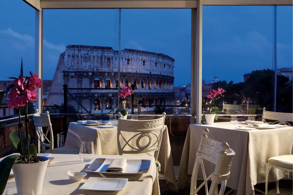 Mangiare in terrazza a Roma la grande bellezza  La