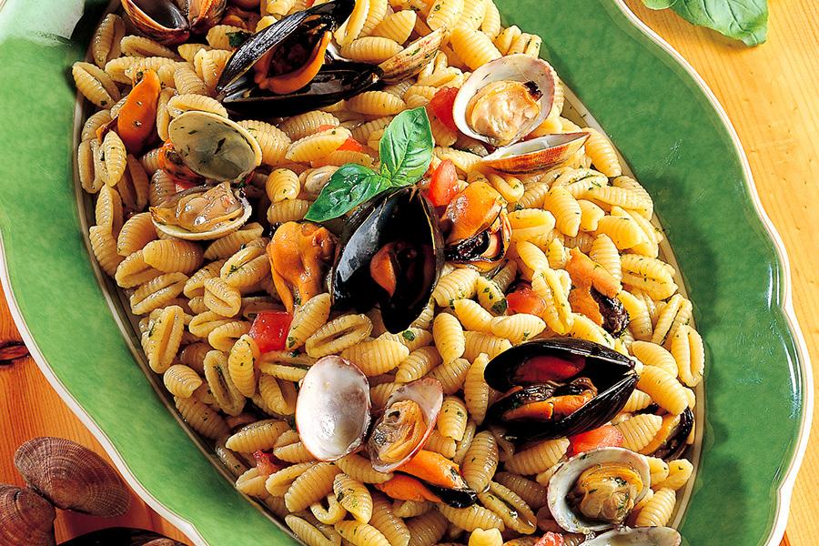 Ricetta Gnocchetti sardi con vongole e cozze  La Cucina