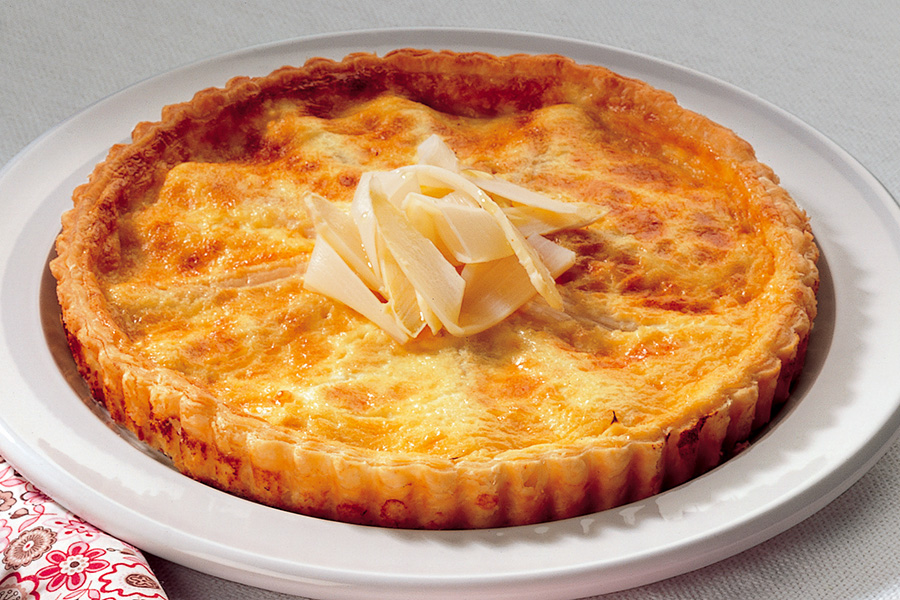 Ricetta Torta agli asparagi bianchi  La Cucina Italiana