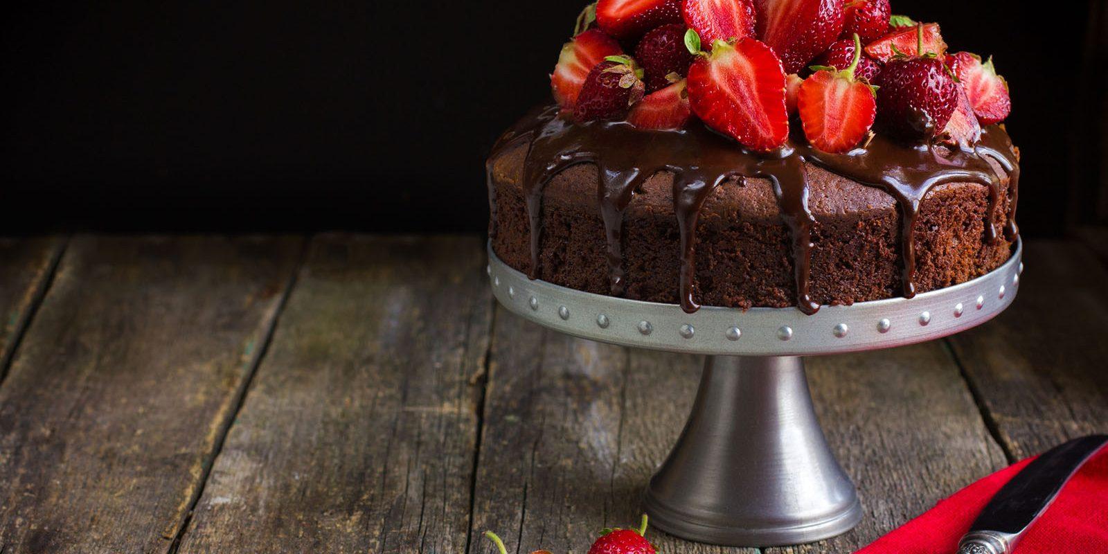 Torta cioccolato e fragole le ricette  La Cucina Italiana