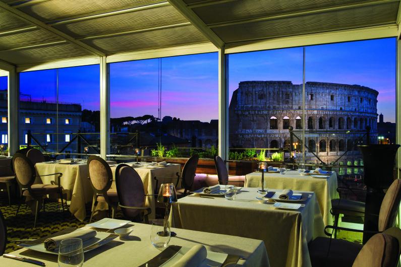 Mangiare in terrazza a Roma la grande bellezza  Le ricette de La Cucina Italiana
