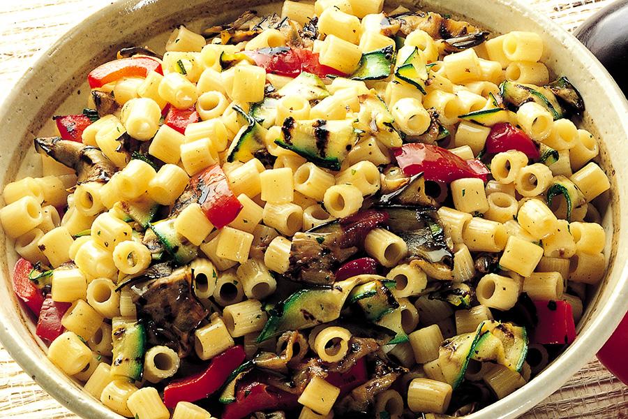 Ricetta Pasta fredda con verdure grigliate  La Cucina
