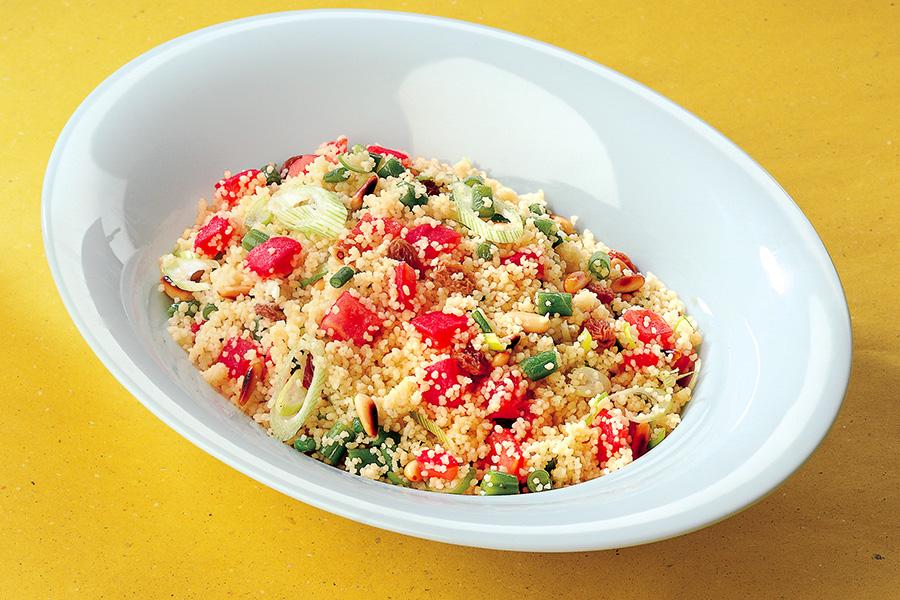 Ricetta Cuscus con fagiolini e pomodori  La Cucina Italiana