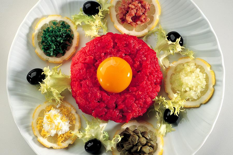 Ricetta Tartara di manzo  La Cucina Italiana