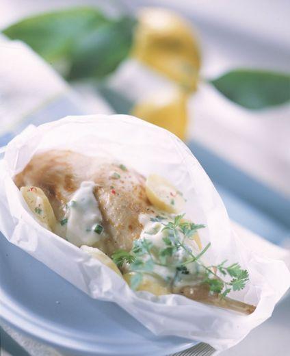 Cuisse De Lapin En Papillote : cuisse, lapin, papillote, Cuisses, Lapin, Papillote, Crème, Citronnée, Herbes, Ladepeche.fr