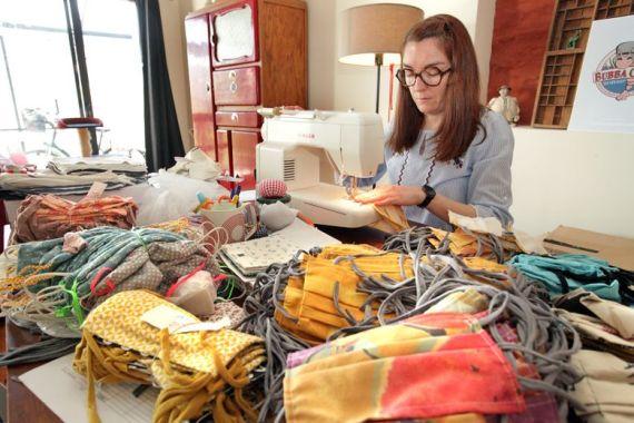 Les couturières bénévoles ont déjà produit 3 000 masques