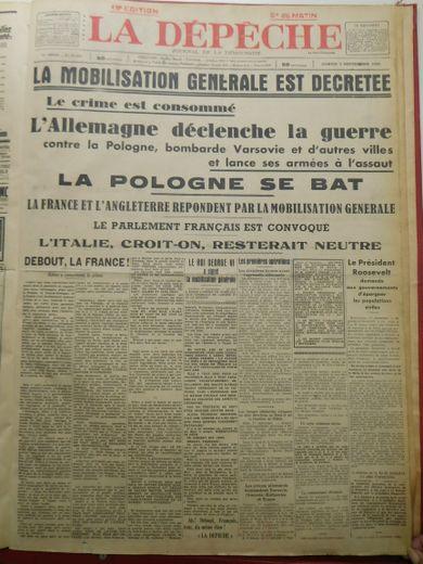 1939 La France Entre En Guerre : france, entre, guerre, France, Croyait, Invincible,, Pourtant..., Ladepeche.fr