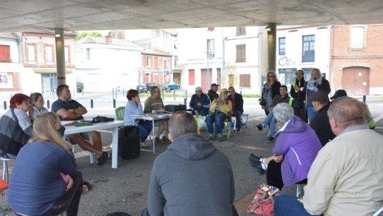 Lors de cette deuxième assemblée générale de Citoyen-ne-s et gilets jaunes, chacun a pu prendre la parole pour exprimer son opinion.