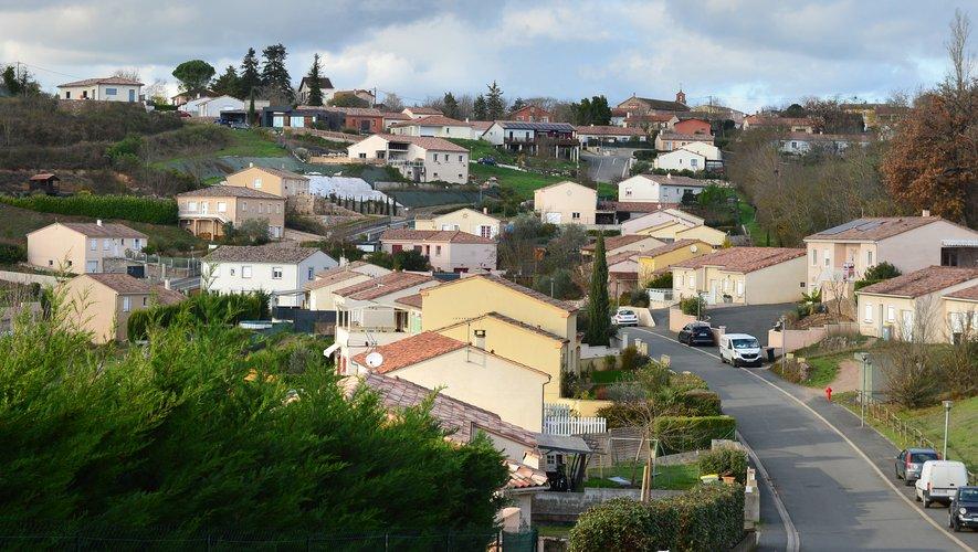 Le quartier de Cagnac-les-Mines où se situe la maison de Delphine Jubillar.