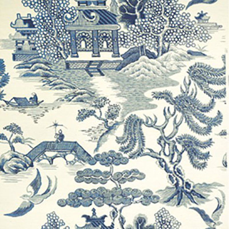 lee jofa willow lake blue cream 5 wallpaper 40 off samples