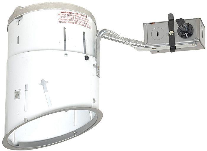 juno 6 line voltage sloped remodel recessed light housing