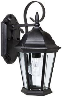 "Capital Carriage House 16"" High Black Outdoor Wall Light ..."