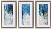 """Surface 41"""" High Triptych 3-Piece Framed Wall Art Set ..."""