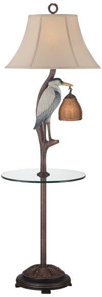 Heron Antique Night Light Floor Lamp - #23N94   Lamps Plus