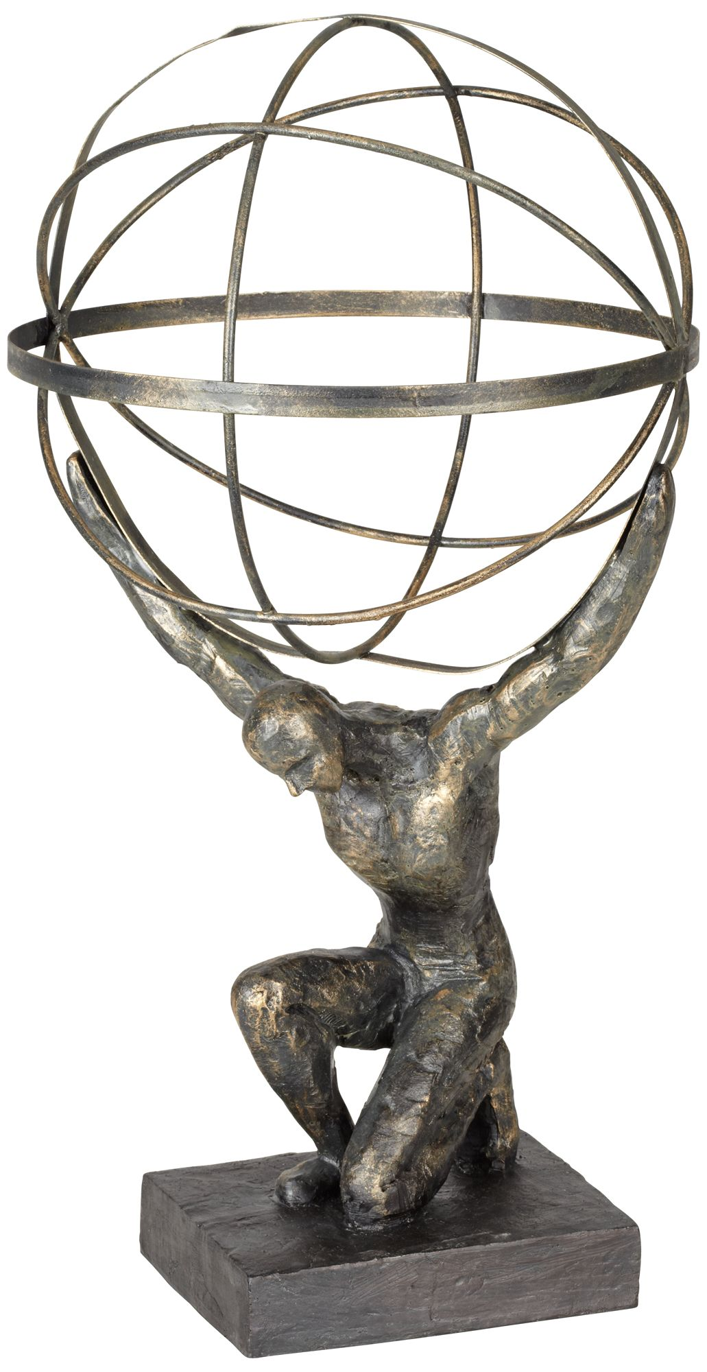 atlas with globe 17