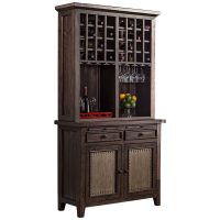 "Kathy Ireland Home Huntington 84"" Wheat Bookcase"