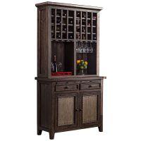 "Kathy Ireland Home Huntington 84"" Wheat Bookcase - #4T733 ..."