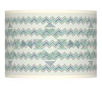 Triangular Stitch Giclee Lamp Shade 13.5x13.5x10 (Spider ...