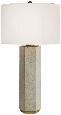 Regina Andrew Gareon Concrete Table Lamp - #37D00 | Lamps Plus