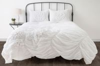 Hush Ruched Comforter Bedding Sets - #3C288 | Lamps Plus