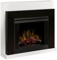 Ebony Black Mantel Electric Fireplace - #3C829 | Lamps Plus