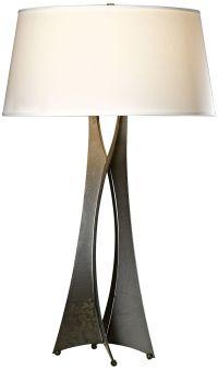 Hubbardton Forge Moreau Steel Contemporary Table Lamp ...