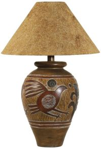 Indian Bird Handcrafted Southwest Table Lamp - #3N805 ...