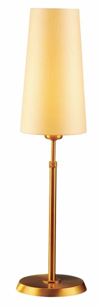 Holtkoetter Antique Brass Table Lamp with Slim Kupfer
